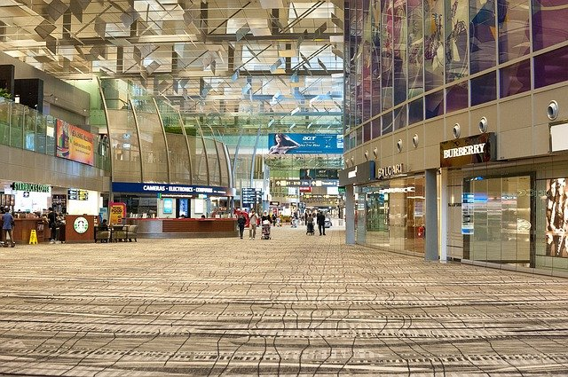 Airport Lounge - Singapore
