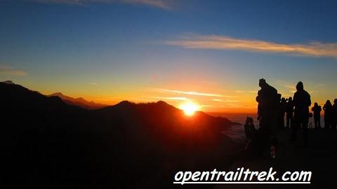 Sunrise from Ghorepani Poon hill Trek