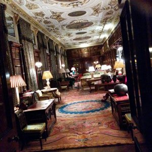 One of the rooms at Chatsworth House, Derbyshire