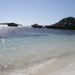 Beach at Rottnest